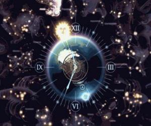 Puzzle L'horloge du zodiaque
