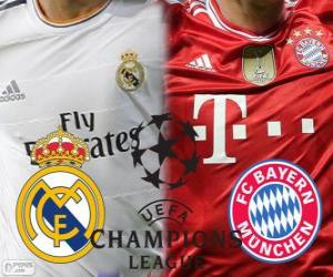 Puzzle Ligue des Champions - UEFA Champions League demi-finale 2013-14, Real Madrid - Bayern