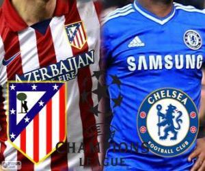 Puzzle Ligue des Champions - UEFA Champions League demi-finale 2013-14, Atlético - Chelsea
