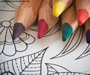 Puzzle Livre de coloriage