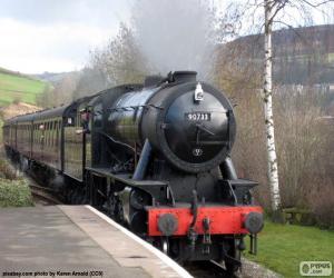 Puzzle Locomotive à vapeur