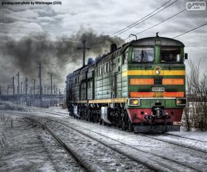 Puzzle Locomotive diesel