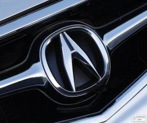 Puzzle Logo de Acura, marque de voitures japonaises