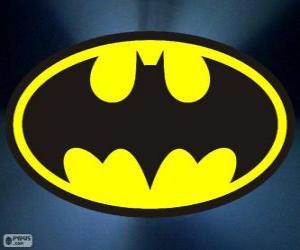 Puzzle Logo de Batman, la chauve-souris