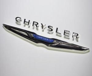 Puzzle Logo de Chrysler. Marque de voitures des États-Unis