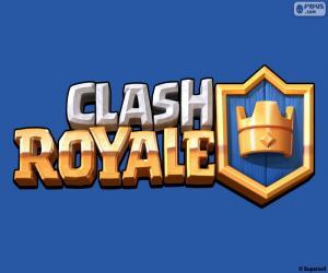 Puzzle Logo de Clash Royale