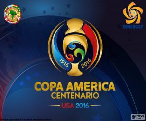 Puzzle Logo de Copa América Centenario