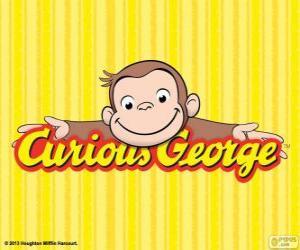 Puzzle Logo de Curious George, Georges le petit curieux