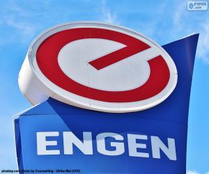 Puzzle Logo de Engen Petroleum