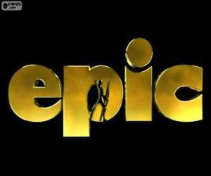 Puzzle Logo de Epic. La Bataille du royaume secret