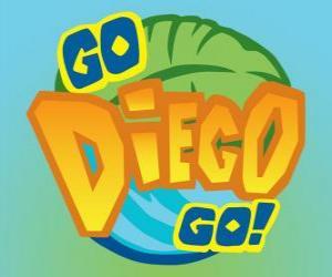 Puzzle Logo de Go, Diego!