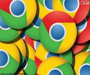 Puzzle Logo de Google Chrome