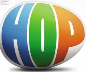 Puzzle Logo de Hop, le film