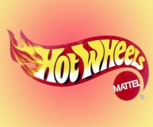 Puzzle Logo de Hot Wheels de Mattel