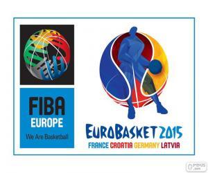 Puzzle Logo de l'EuroBasket 2015