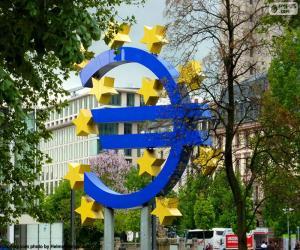 Puzzle Logo de la Banque centrale européenne