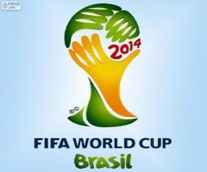 Puzzle Logo de la Coupe du monde de football de Brésil 2014
