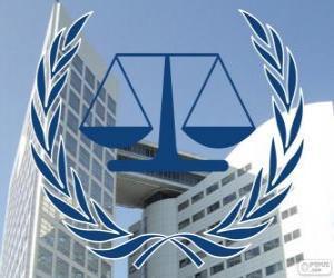 Puzzle Logo de la CPI, Cour pénale internationale