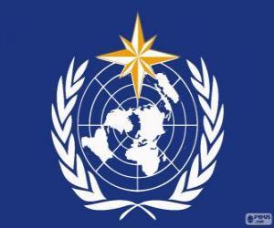 Puzzle Logo de l'OMM, l'Organisation météorologique mondiale