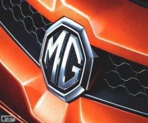 Puzzle Logo de MG, marque du Royaume-Uni