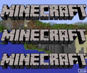 Puzzle Logo de Minecraft