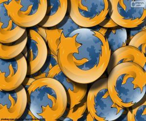 Puzzle Logo de Mozilla Firefox