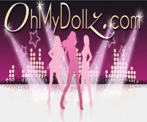Puzzle Logo de Oh My Dollz