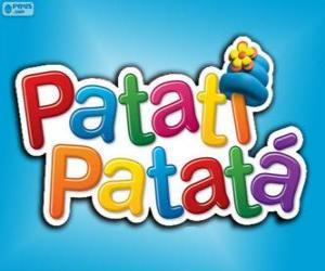 Puzzle Logo de Patatí Patatá