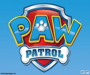 Puzzle Logo de Paw Patrol