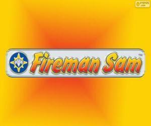 Puzzle Logo de Sam le pompier