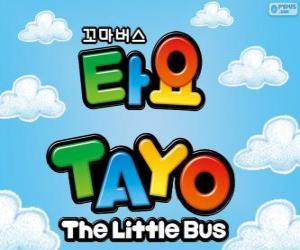 Puzzle Logo de TAYO le petit Bus