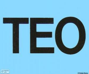 Puzzle Logo de Teo