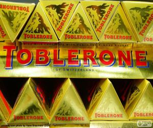 Puzzle Logo de Toblerone