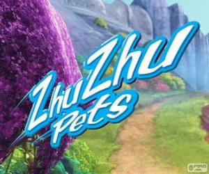 Puzzle Logo de Zhu Zhu Pets