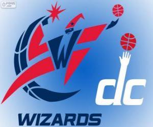 Puzzle Logo des Washington Wizards, équipe de la NBA. DivisionSud-Est,ConférenceEst