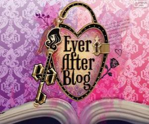Puzzle Logo d'Ever After High