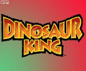 Puzzle Logo Dinosaur King