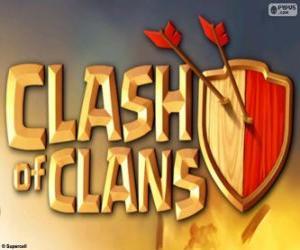 Puzzle Logo du Clash of Clans