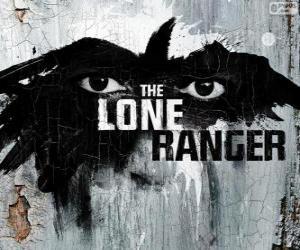 Puzzle Logo du film de Lone Ranger