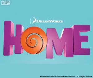 Puzzle Logo du film Home