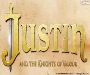 Puzzle Logo du film Justin et l'épée de la valeur
