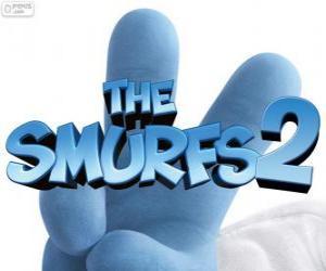 Puzzle Logo du film Les Schtroumpfs 2, The Smurfs 2