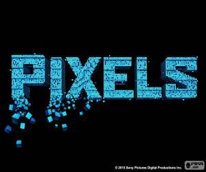 Puzzle Logo du film Pixels