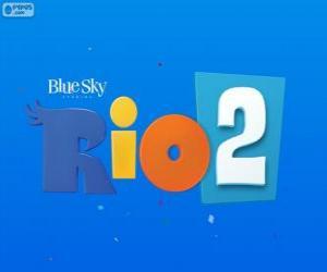Puzzle Logo du film Rio 2