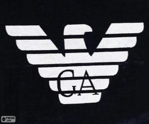 Puzzle Logo Giorgio Armani