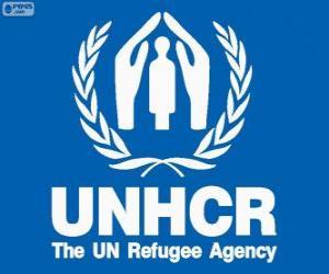 Puzzle Logo HCR, commissaire des Nations Unies pour les réfugiés