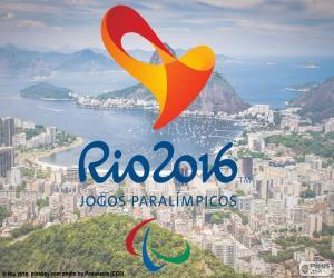 Puzzle Logo, Jeux paralympiques Rio 2016