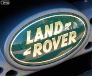 Puzzle Logo Land Rover
