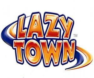 Puzzle Logo Lazy Town