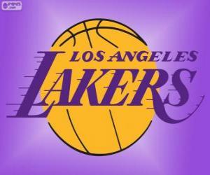 Puzzle Logo Los Angeles Lakers, équipe de la NBA, Division Pacifique, Conférence Ouest